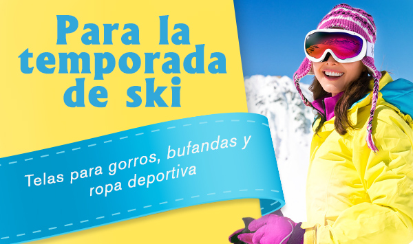 Disfruta del deporte invernal con tus prendas deportivas y gorros de punto hechos por ti misma.