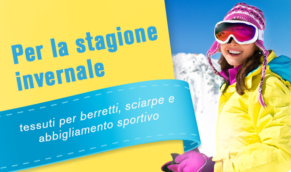Il piacere degli sport invernali con l'abbigliamento sportivo e fantastici berretti in maglia realizzati con le proprie mani