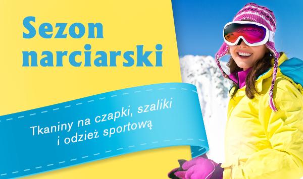 Zabawy na śniegu i sporty zimowe – we własnoręcznie uszytych ubraniach sportowych i fantastycznych wydzierganych czapkach.
