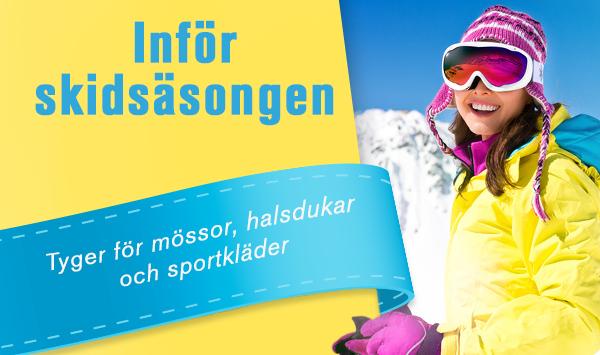 Njut av vinterns alla sporter med egensydda vintersportkläder och coola, stickade mössor