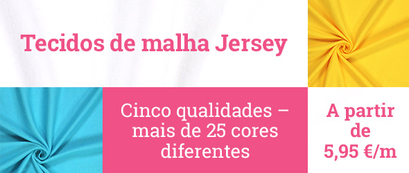 Jerseystoffe in mehr als 25 Farben bei stoffe.de