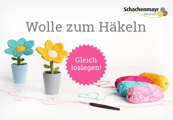 Baumwollgarn zum Häkeln - in vielen Farben bei stoffe.de