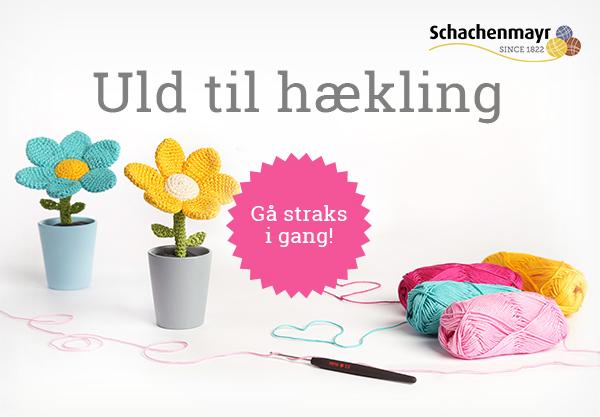 Bomuldsgarn til hækling - i mange farver hos stofkiosken.dk