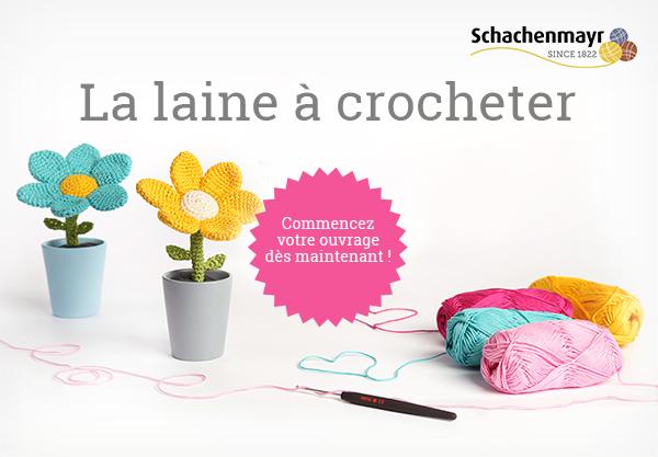 Fil en coton pour crocheter - dans de nombreuses couleurs sur tissus.net
