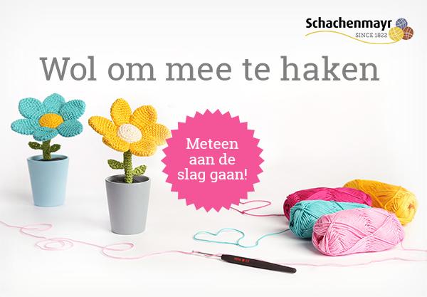 Katoengaren om mee te haken - in vele kleuren bij stoffen.net