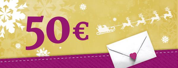 Heute im Adventskalender von stoffe.de: 3 x 1 Gutschein á 50 €