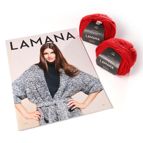 Heute im Adventskalender von stoffe.de: 3 x 1 Strickpaket Lamana