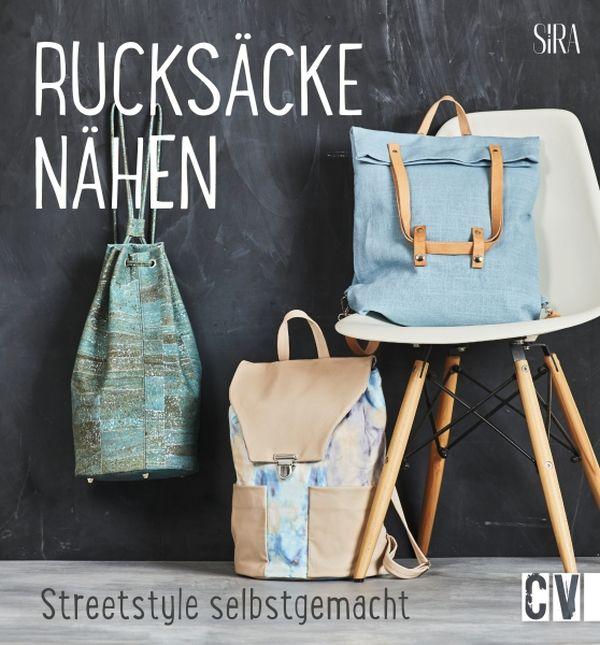 Verlosung auf stoffe.de: 3 Nähbuch Exemplare plus Material für 'Rucksäcke nähen'
