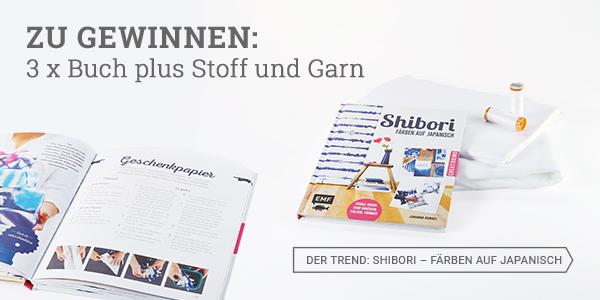 Shibori - Färben auf Japanisch von Johanna Rundel - Buch auf blog.stoffe.de gewinnen