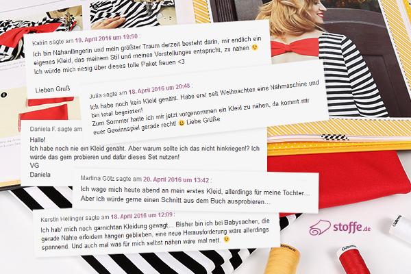 Gewinner der Verlosung auf blog.stoffe.de