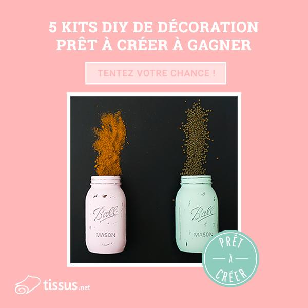 5 kits DIY de décoration sont à gagner !