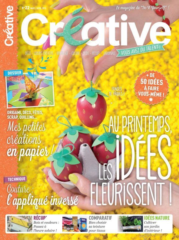 5 exemplaires du magazine « Créative » à gagner
