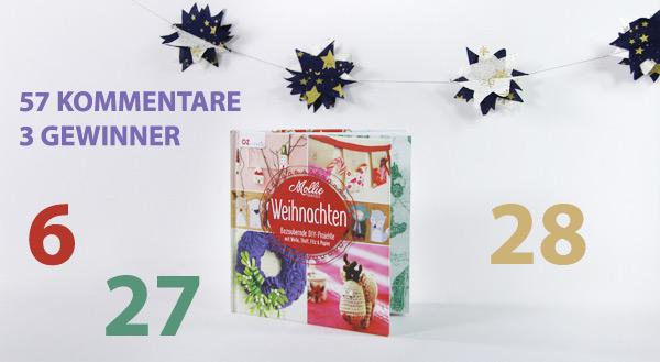 Gewinner der Mollie Makes Weihnachtsbücher bei stoffe.de