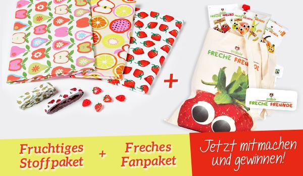 Gewinnspiel: Fanpaket von Erdbär und Stoffpaket