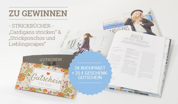 Interview und Gewinnspiel:  Strickbücher von Jennifer Schleich und Helgrid van Impelen plus 25 € Geschenkgutschein