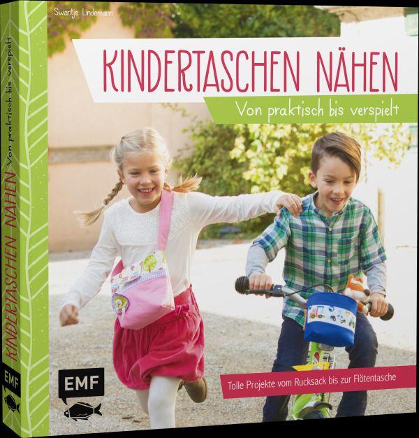 Neues Buch zum Thema Taschen nähen: Kindertaschen nähen von Swantje Lindemann