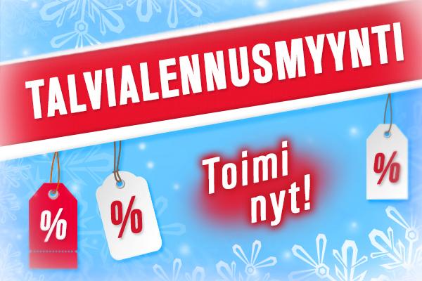 Hyödynnä tarjoukset nyt - talviale kankaita.comissa