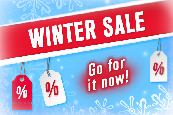 Snap up a bargain now – in the myfabrics.co.uk Winter Sale