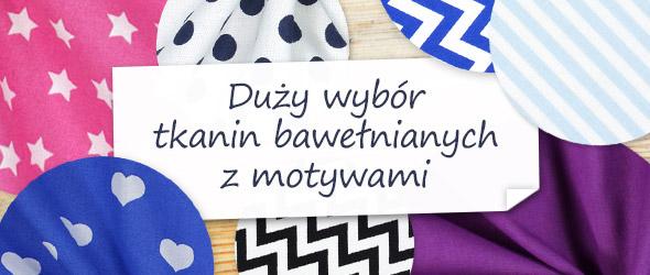 Tkaniny bawełniane do łączenia – doskonała harmonia kolorów klasycznej linii