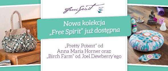 Nowe kolekcje Free Spirit w wesołych kolorach i – co jest szczególnie ważne – z nowej bawełny o znakomitej jakości