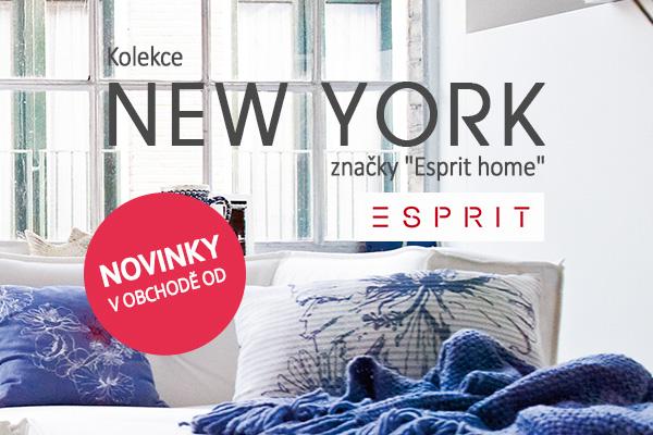 Vneste si New York k sobě domů - s novou kolekcí Esprit
