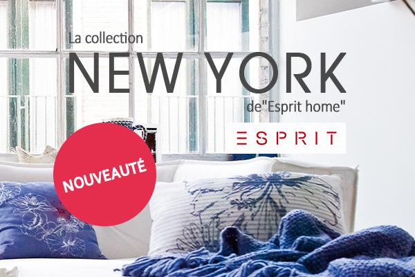 Agencez votre intérieur avec le flair de New York - avec la nouvelle collection d'Esprit