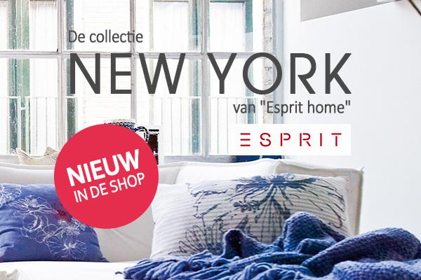 Haal New York in uw huis - met de nieuwe Esprit-collectie