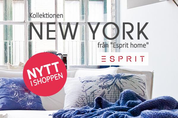 Hämta hem New York til ditt hem med den nya Esprit-kollektionen