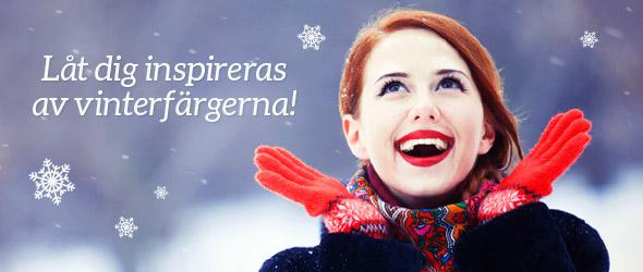 Låt dig inspireras av vinterfärgerna! Ta en titt på vinterkollektionen redan nu.