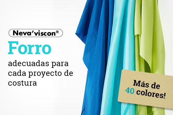 Ahora en telas.es: Forro de marca Neva´viscon