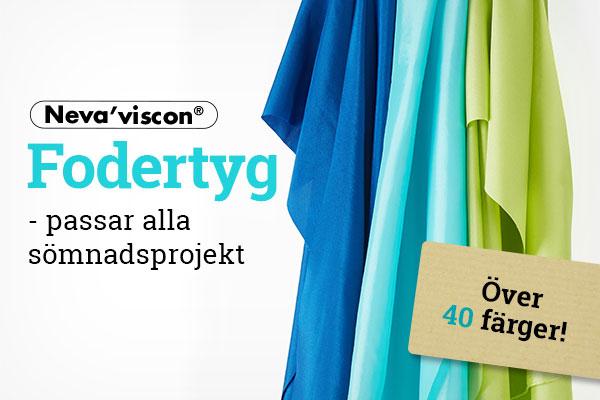 Nytt på tyg.se: Fodertyger från Neva'viscon
