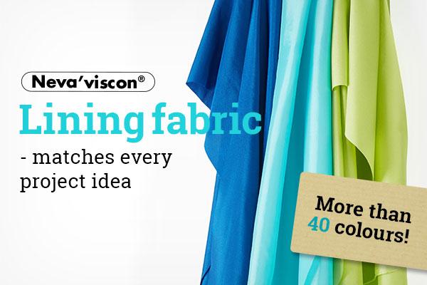 Now at myfabrics.co.uk: Branded Neva'viscon lining materials