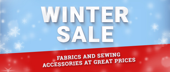Find your very own bargain in the myfabrics.co.uk Winter Sale!