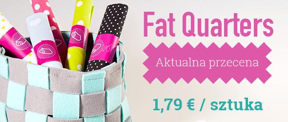 Na patchworki i niewielkie projekty: Fat Quarters w ofercie tkaniny.net