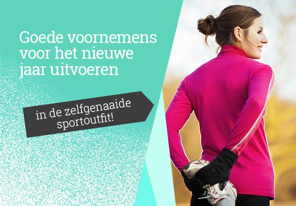 Sportkleding naaien - met passende stoffen van stoffen.net