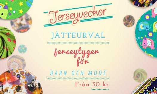 Jerseyveckor: Jätteurval jerseytyger för barn och mode