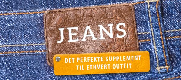 Jeansstoffer i forskellige farver hos stofkiosken.dk