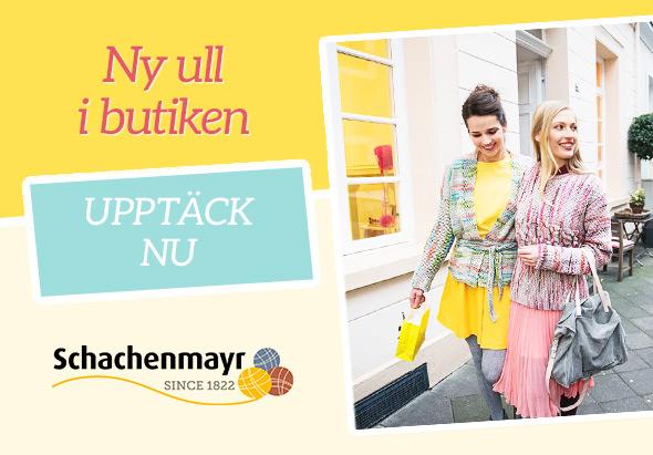 Nu även på tyg.se: Märkesgarn från Schachenmayr