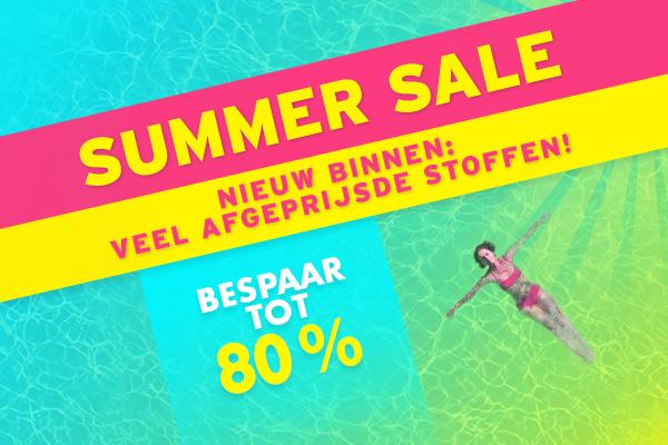 Nieuwe bij stoffen.net: afgeprijsde deocstoffen in de summer sale
