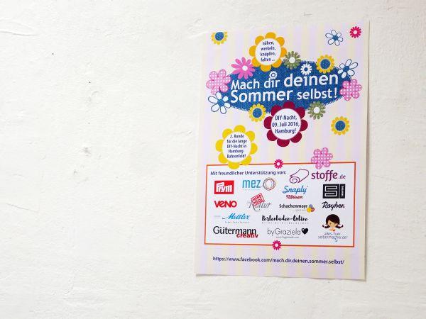 DIY Nacht 2016 - Christine von stoffe.de unterwegs