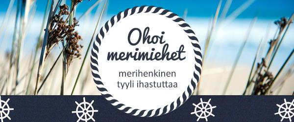 Merihenkiset kankaat ja ompelutarvikkeet - inspiroidu merihenkisestä maailmastamme