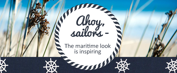 Maritime-themed fabrics and sewing accessories: Get inspired by our maritime range