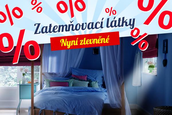 Zlevněné zatemňovací látky na latka.cz