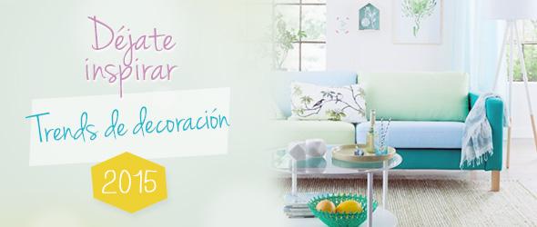 Tendencias de decoración 2015, agrupadas en telas.es
