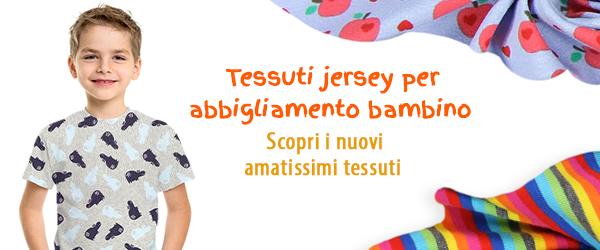 Tessuti jersey per bambini su tessuti.com