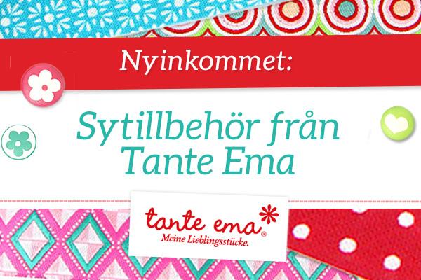 Nyhet! Sytillbehör från Tante Ema