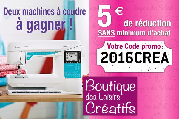 Jeu-concours Boutique des Loisirs Créatifs