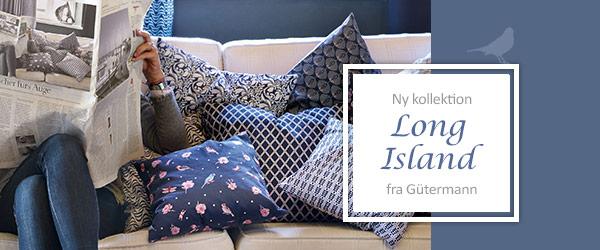 Nyligt ankommet - »Long Island« fra ringaroses by Gütermann