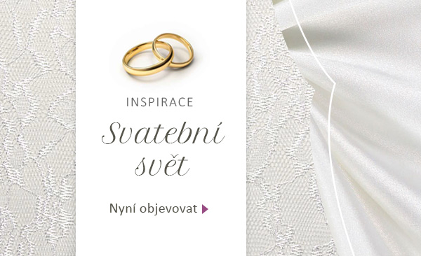 Vhodné látky na šaty pro nevěstu i svatební hosty - samozřejmě na latka.cz
