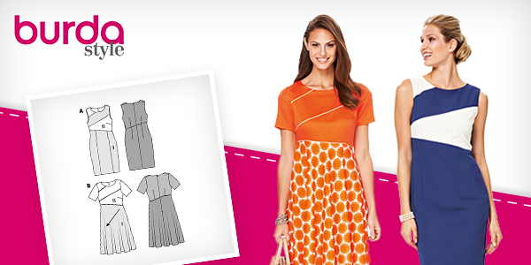Burda dressmaking patterns at myfabrics.co.uk